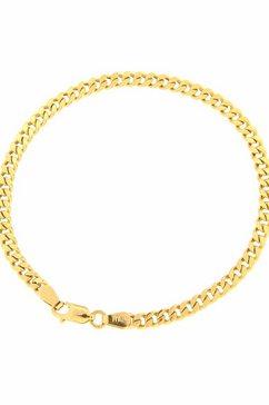 firetti pantserarmband gediamanteerd, gouden armband, 3,6 mm breed goud