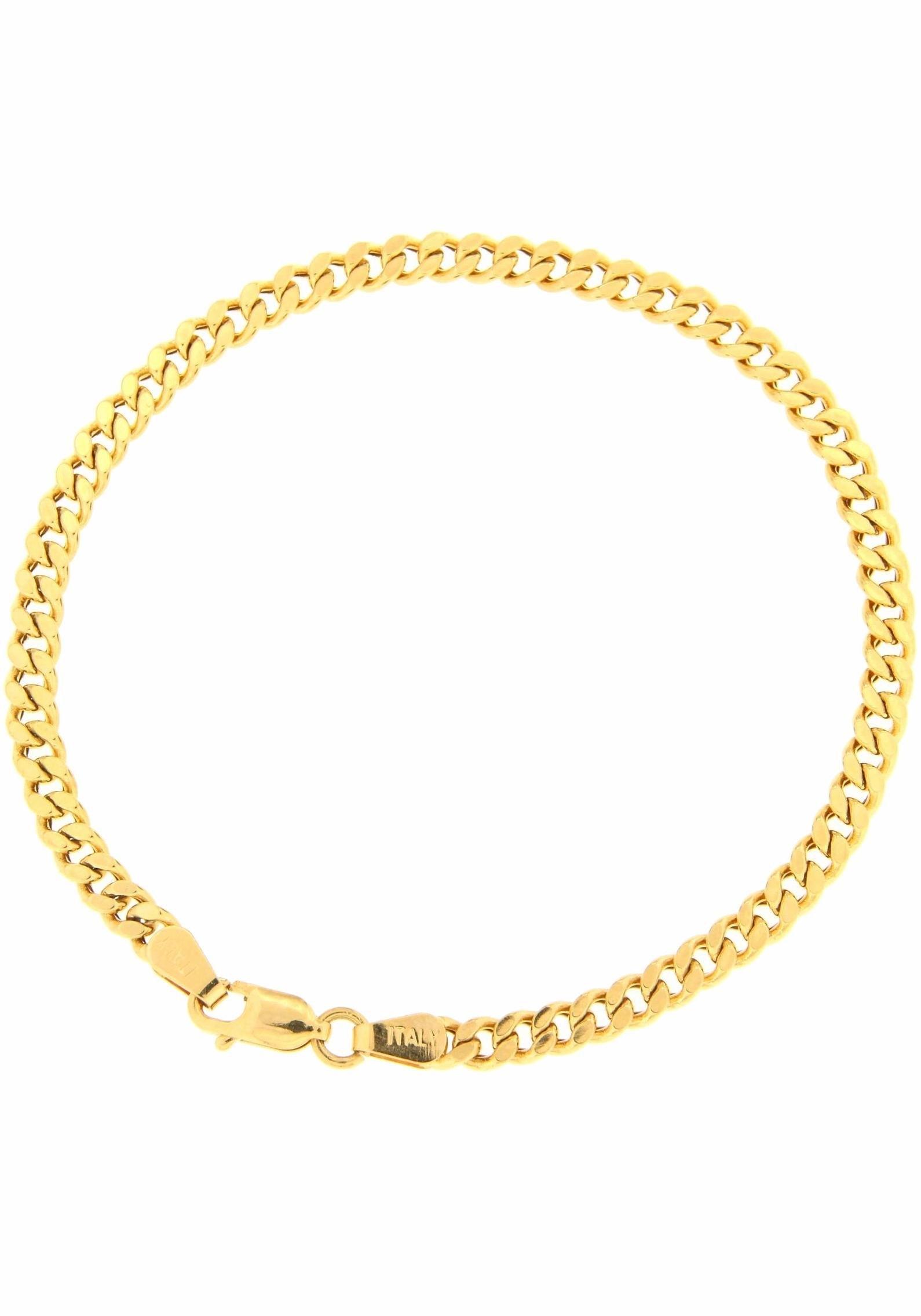 Firetti pantserarmband Gediamanteerd, gouden armband, 3,6 mm breed voordelig en veilig online kopen
