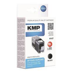 kmp inktpatroon vervangt hp »c2p23ae« nr. 934 xl zwart