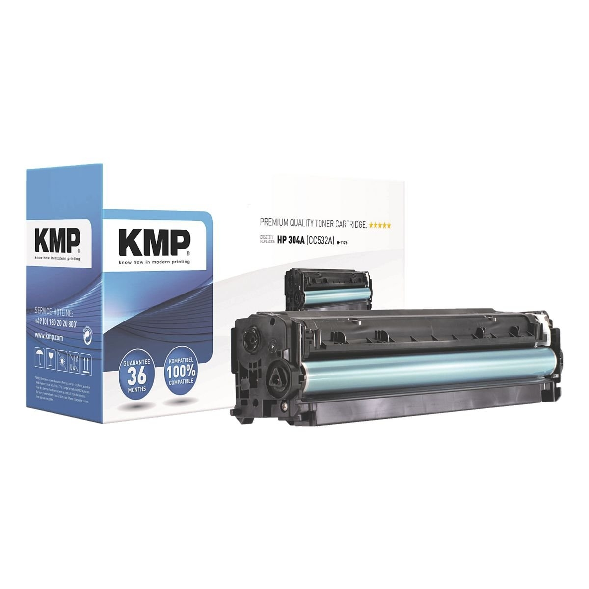 Kmp Toner vervangt HP »CC532A« 304A nu online bestellen