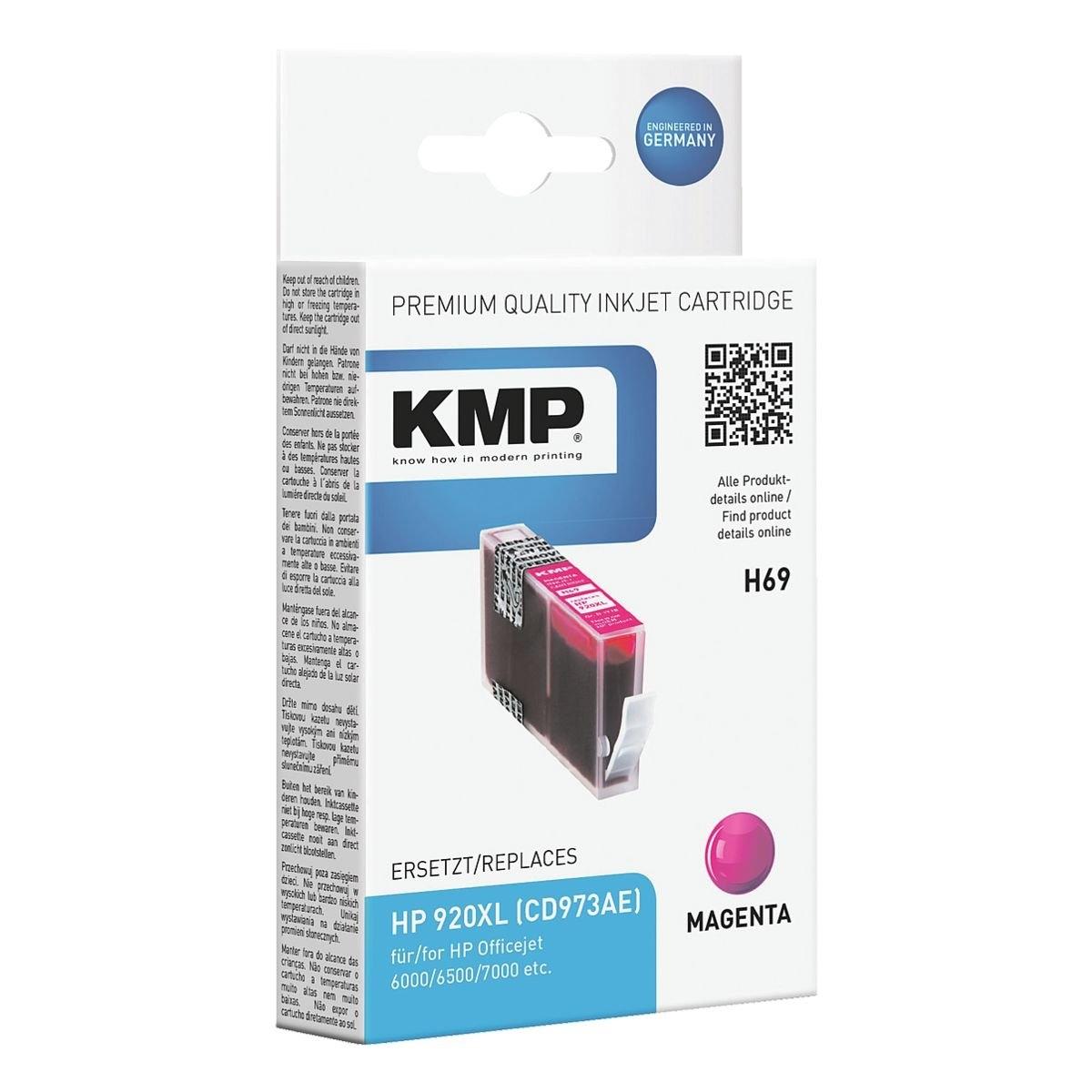 Op zoek naar een Kmp Inktpatroon vervangt HP »CD973AE« nr. 920XL? Koop online bij OTTO