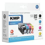 kmp inktpatronenset xxl »h67v« vervangt hewlett packar... multicolor
