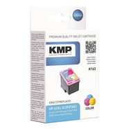 kmp inktpatroon h163 vervangt hewlett packards »c2p07ae... multicolor