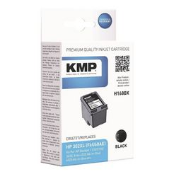 kmp inktcartridge vervangt hp »f6u68ae« nr. 302 xl zwart
