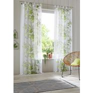 gordijn, home affaire collection, »ina«, met lussen (set van 2) groen