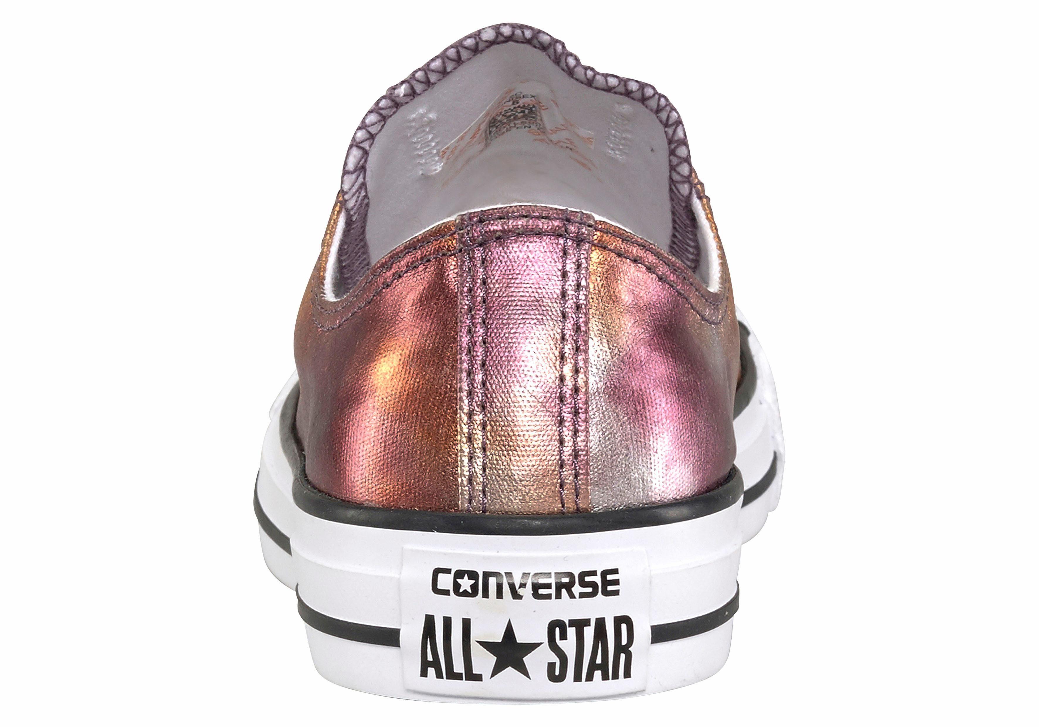 converse all star metallic roze