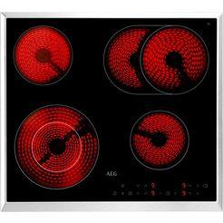 aeg glaskeramische kookplaat hk634060xb zwart