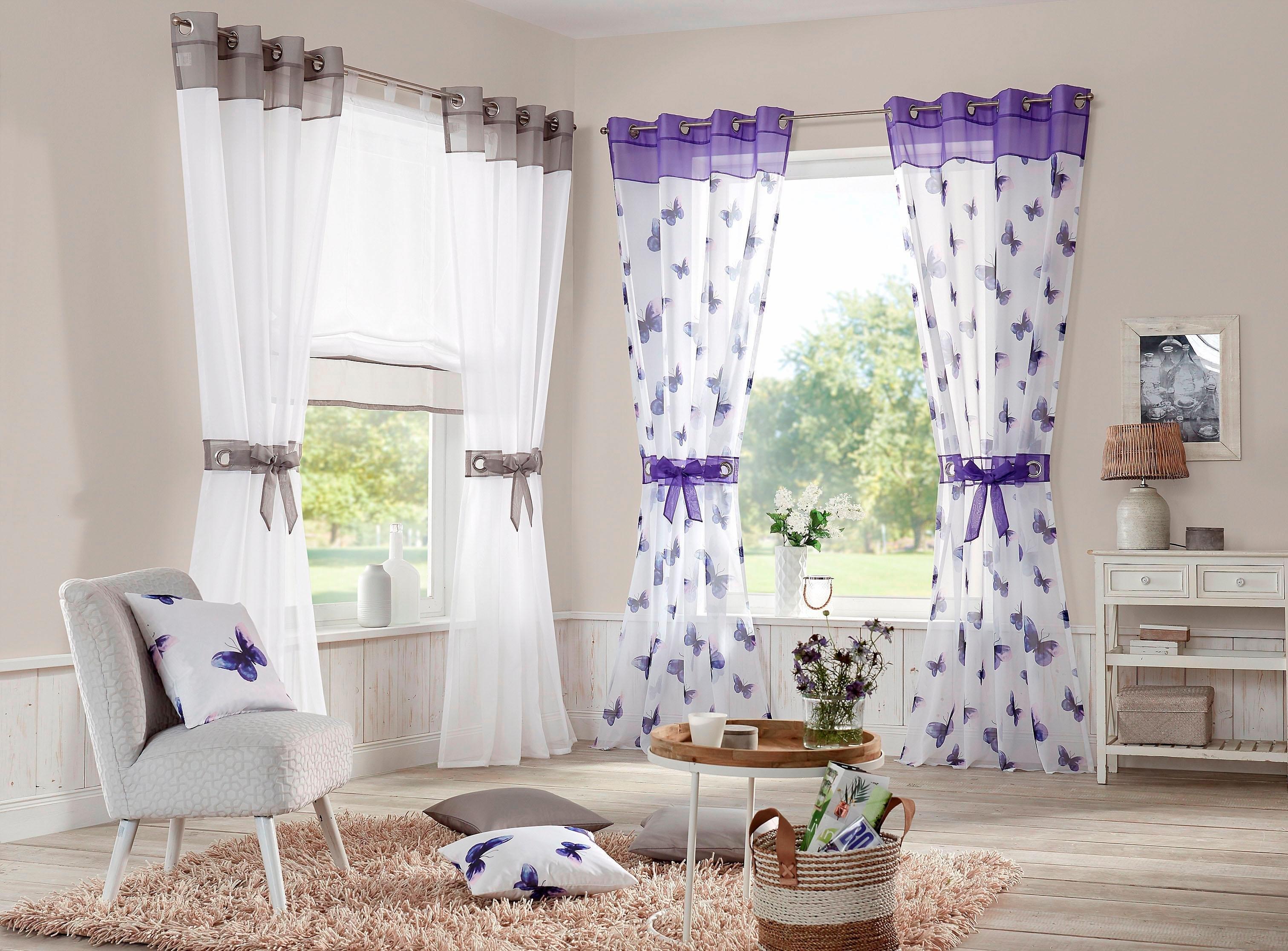 My Home Gordijn Villars in set van 2 nu online bestellen