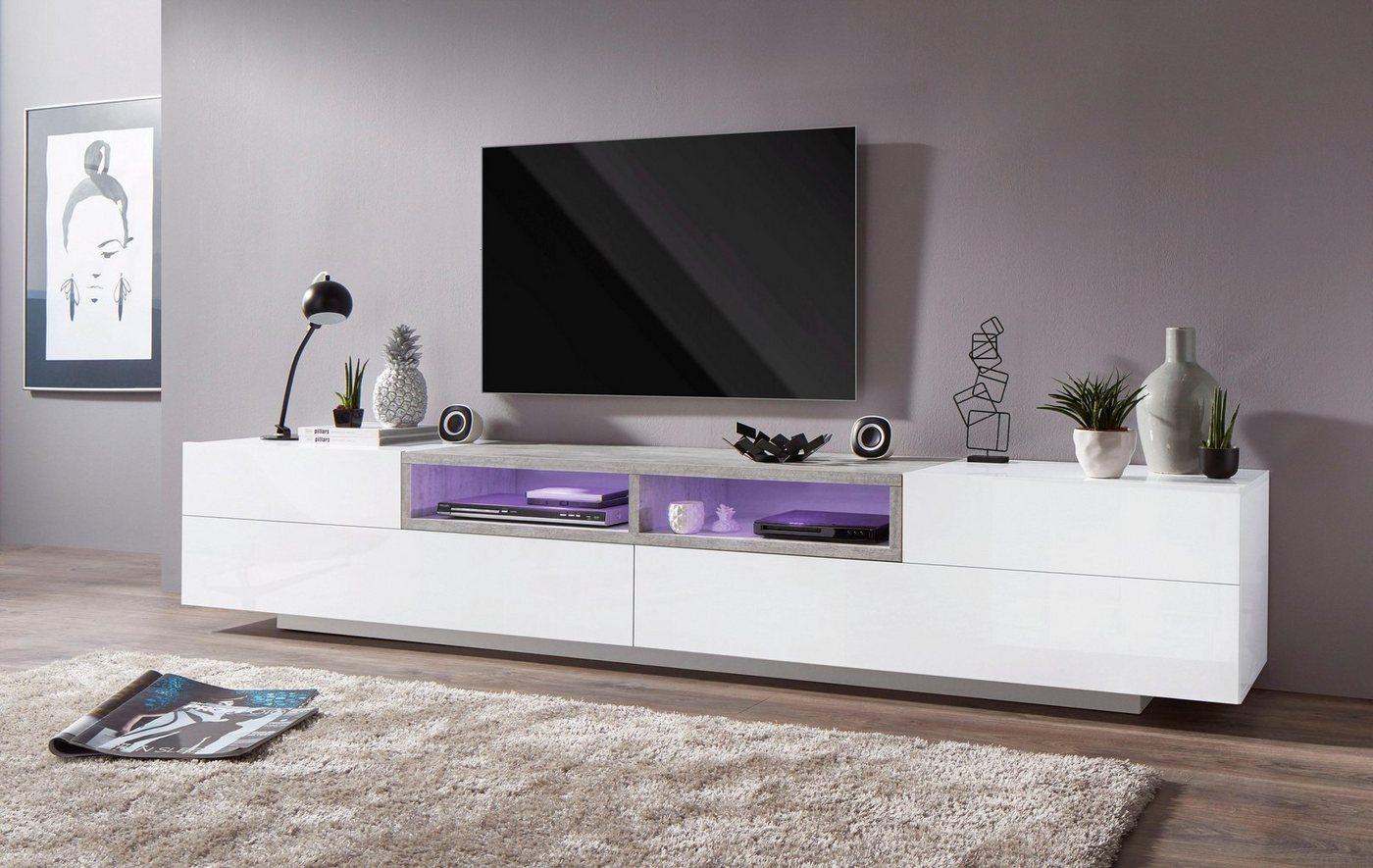 Tecnos TV-meubel Jim, breedte 250 cm