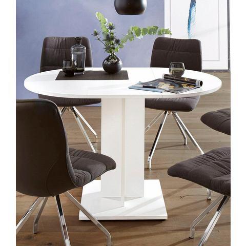Eettafel rond, diameter 80 cm, met uittrekfunctie