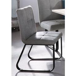 steinhoff stoel (set van 2) grijs