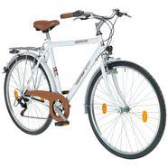performance citybike (heren) »malmoe«, 28 inch, 6 versnellingen, v-remmen wit