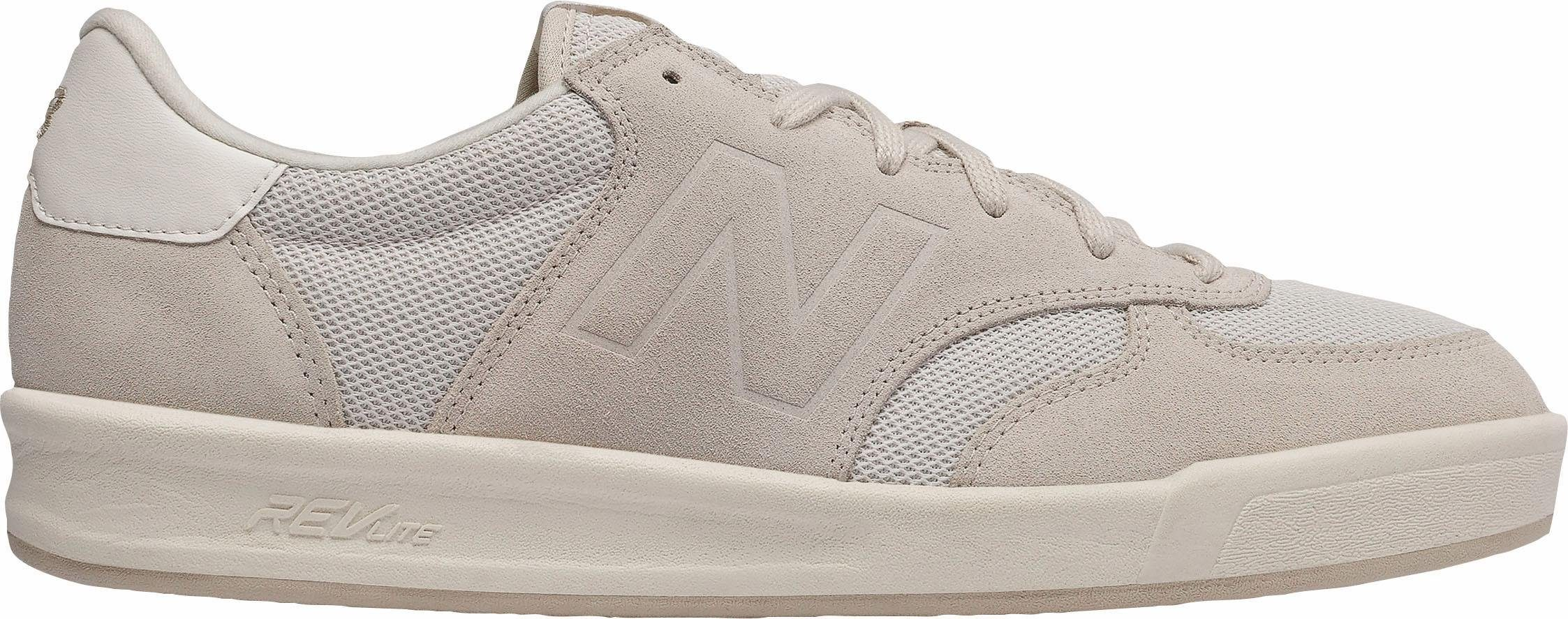new balance beige sneakers