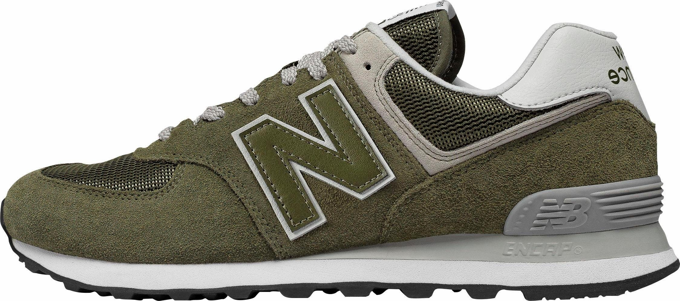 new balance sneakers legergroen