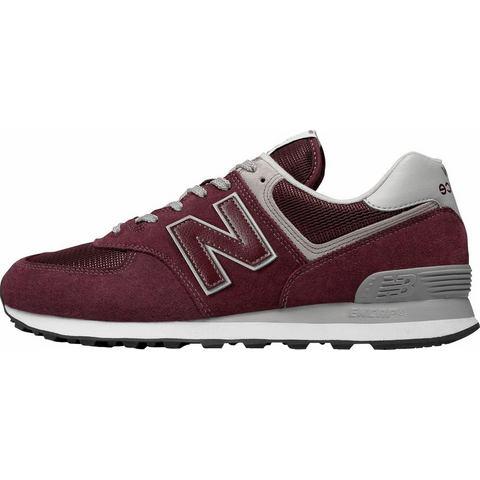 New Balance 574 herensneaker rood en paars