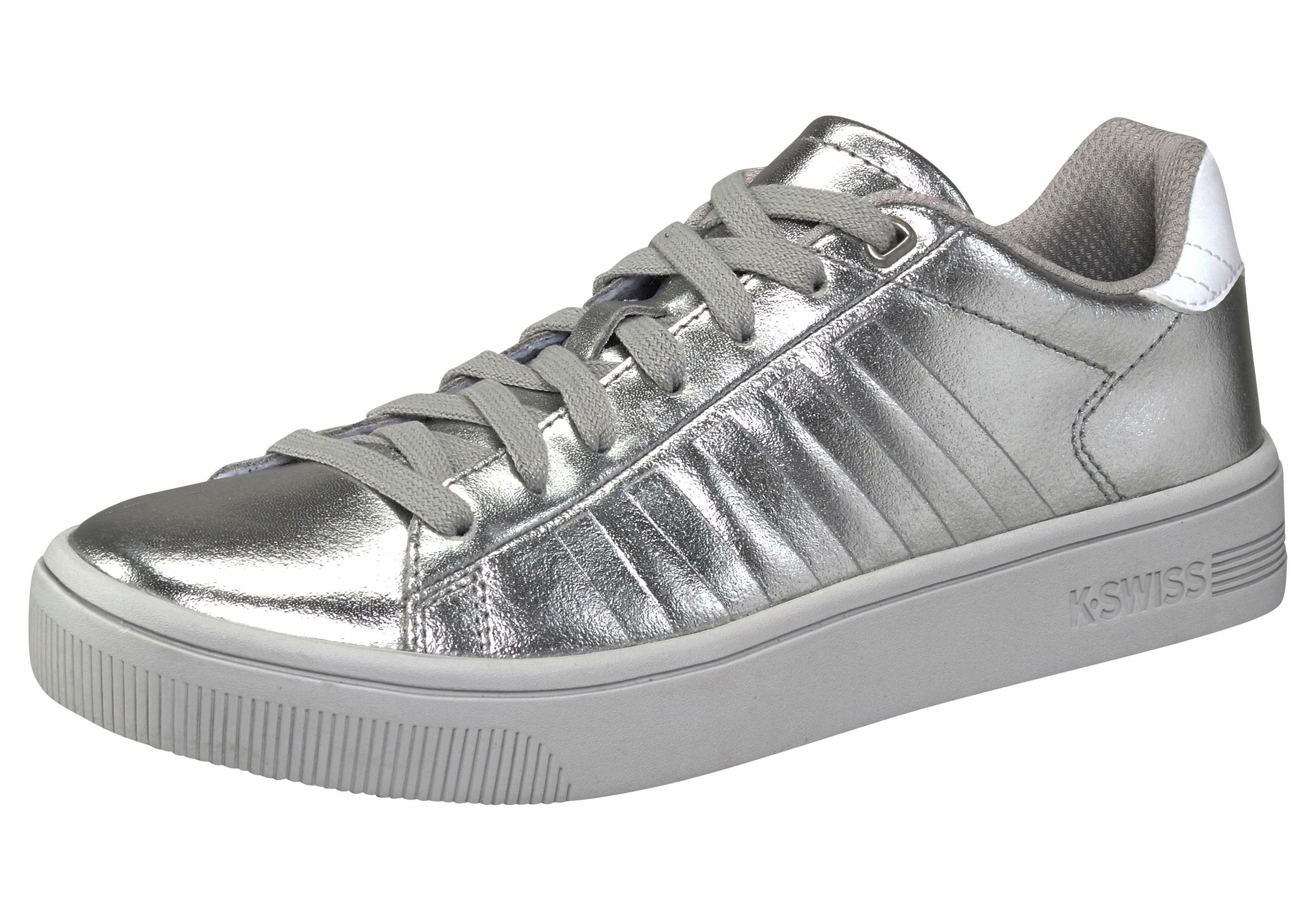 K Femmes De La Cour Suisse Sneaker Frasco - Argent - 42 Eu Q9IPvndjfq
