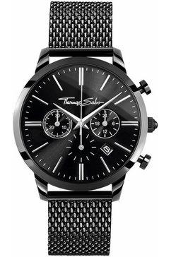 thomas sabo chronograaf »wa0291-287-203-42 mm« zwart
