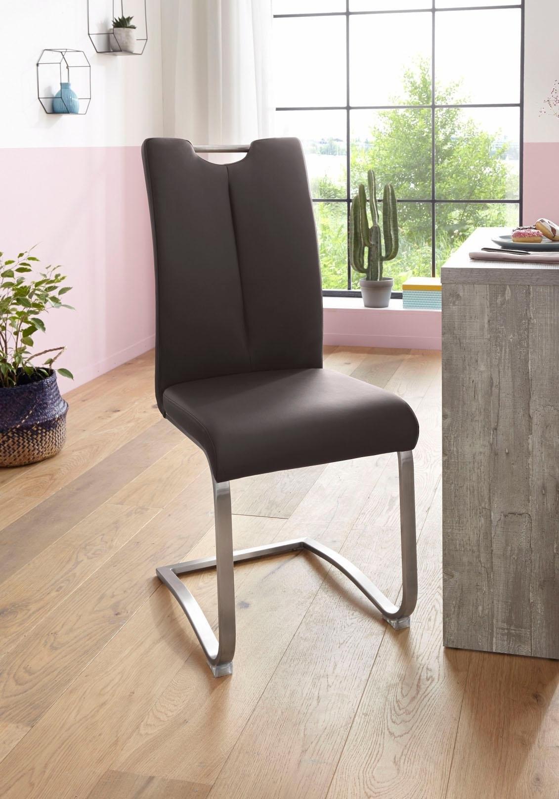 MCA furniture vrijdragende stoel ARTOS Stoel tot 140 Kg belastbaar (set, 2 stuks) - gratis ruilen op otto.nl