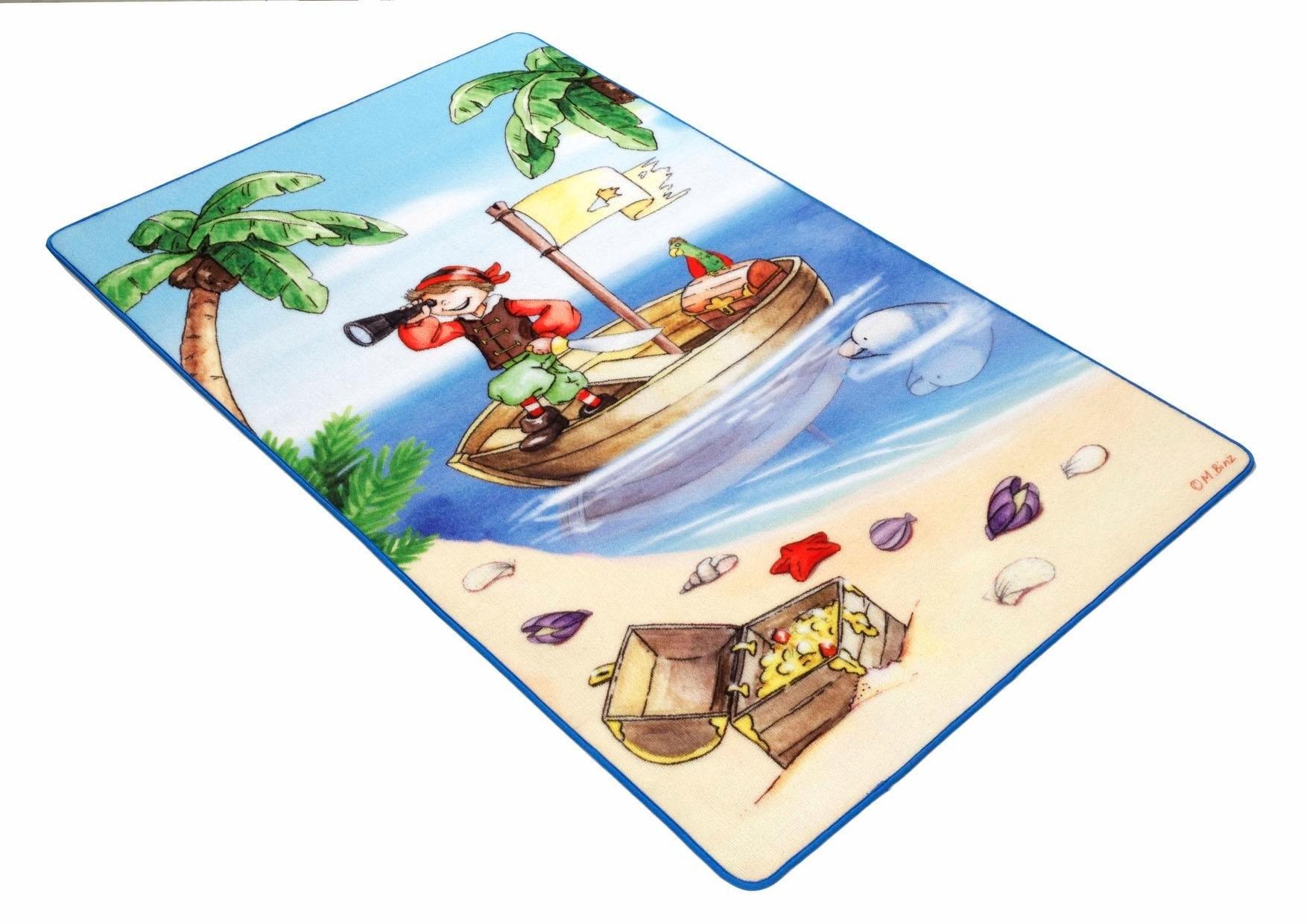 Böing Carpet Kindervloerkleed, »Lovely Kids LK-1«, rechthoekig, hoogte 2 mm veilig op otto.nl kopen