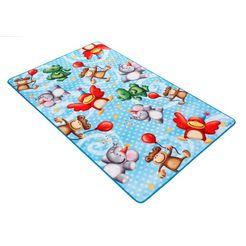 mat, »lovely kids lk-4«, boeing carpet, rechthoekig, hoogte 2 mm blauw
