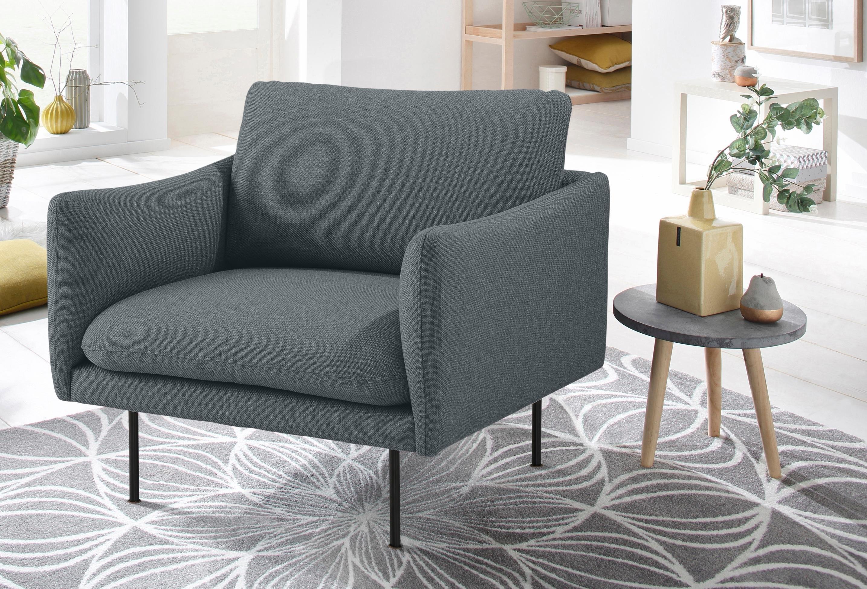Andas fauteuil »Mavis« met los zit- en rugkussen, Scandinavische stijl bestellen: 30 dagen bedenktijd