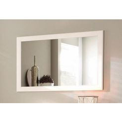 home affaire spiegel »lucy«, breedte 110 cm wit