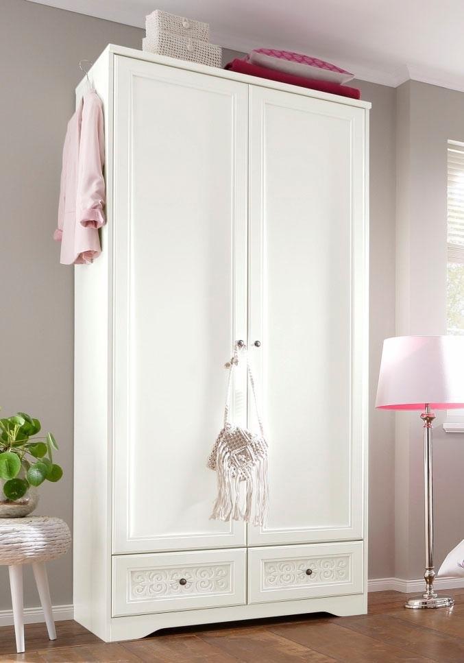Home Affaire garderobekast »Lucy« in 5 breedten met ornamenten in romantische stijl nu online kopen bij OTTO