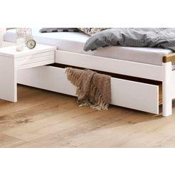 home affaire onderbedlade »capre«, breedte 192 cm, geschikt voor »capre«-ledikant wit