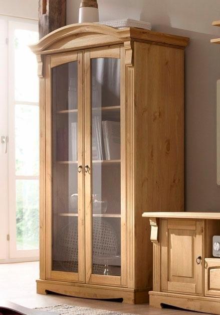 Home Affaire vitrinekast 2-deurs »Anna«, hoogte 162 cm - gratis ruilen op otto.nl