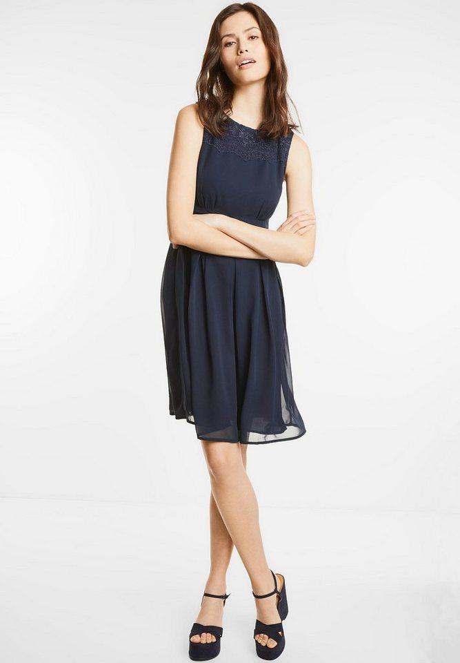 Street One Getailleerde jurk Marta blauw