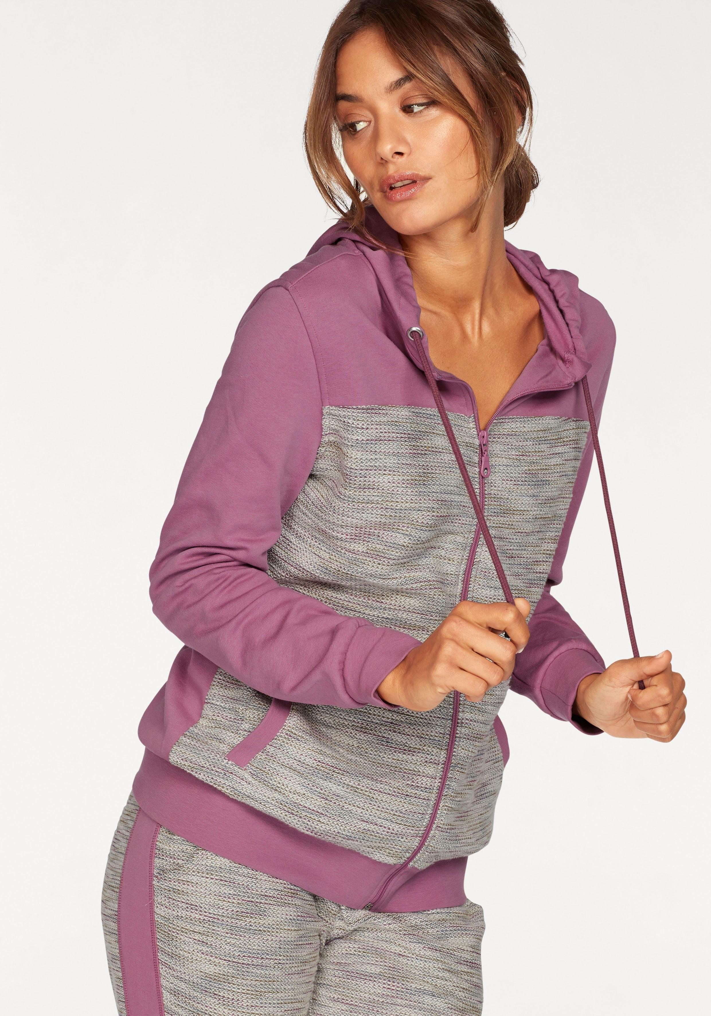 Op zoek naar een Buffalo homewear-jasje in moderne mêlee-look en materialenmix? Koop online bij OTTO