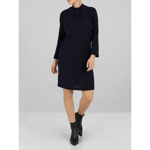 Y.A.S Halsdetail jurk blauw