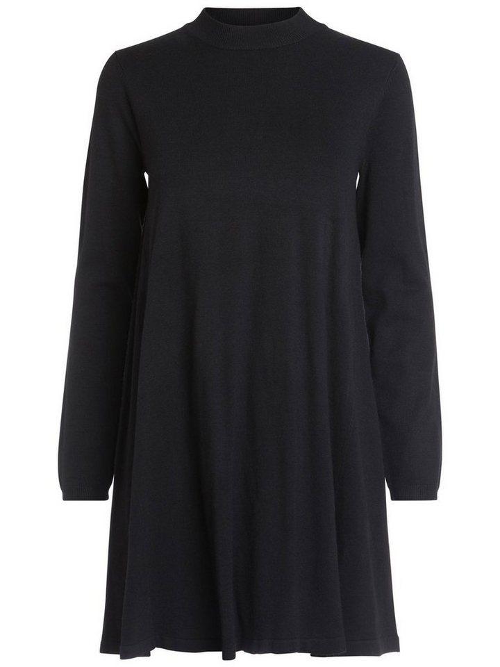 Pieces gebreide jurk zwart