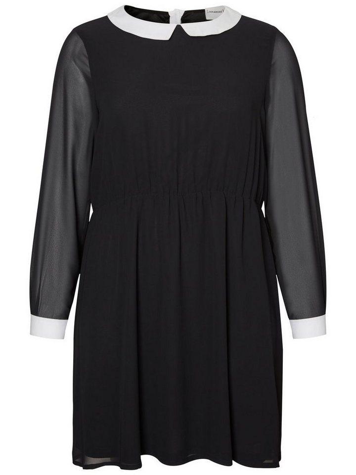 Junarose Gedetailleerde jurk zwart