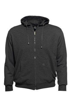 ahorn sportswear capuchonsweatvest in oversized pasvorm grijs