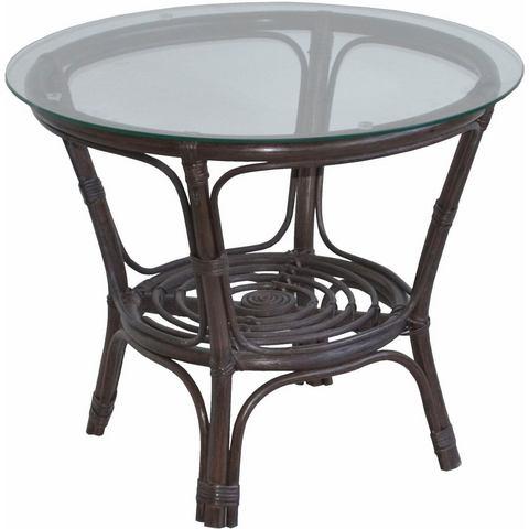 Home affaire rotantafel, gezellige rotanmeubelen, ideaal voor woonruimte of serre