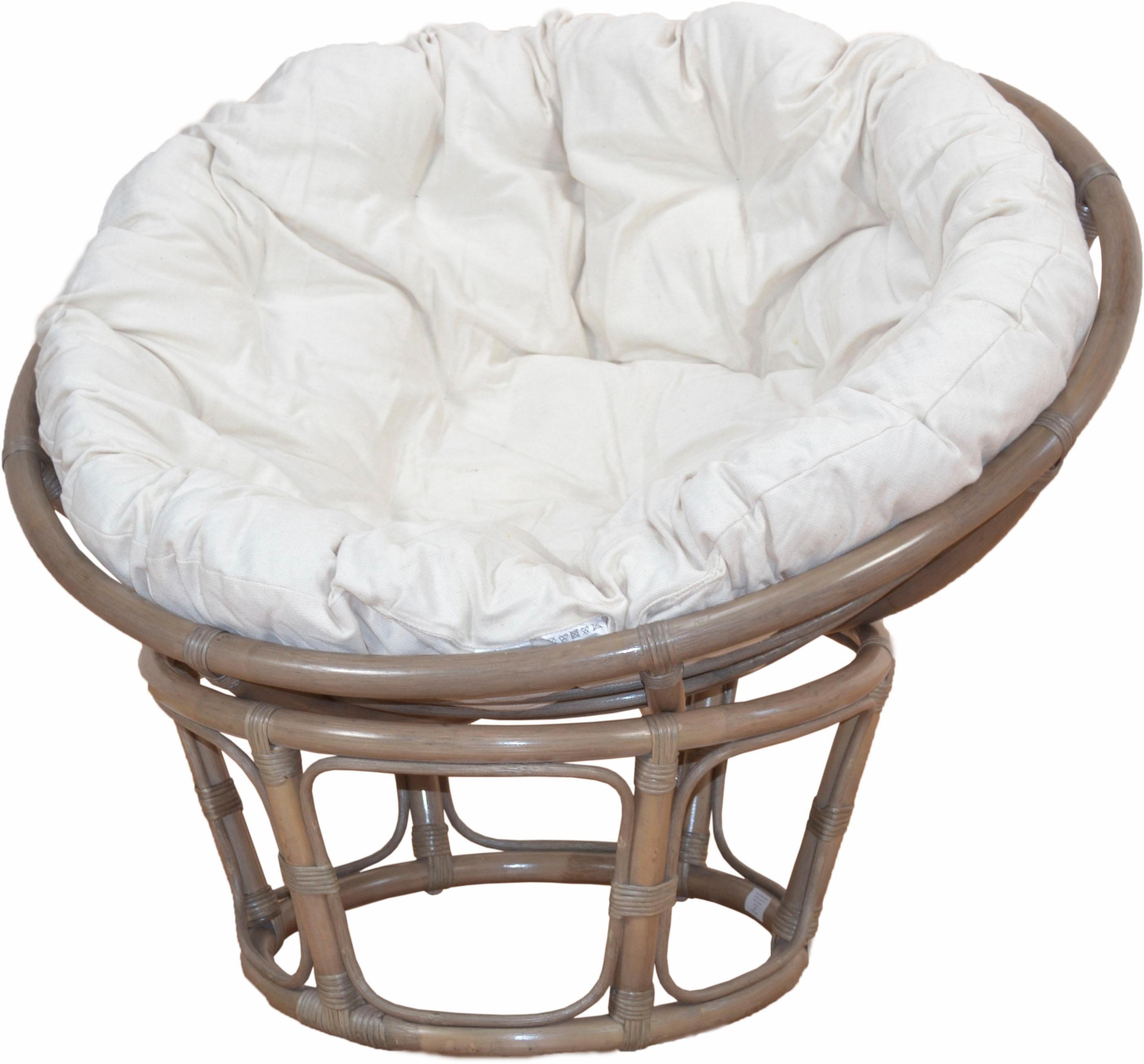 Home Affaire papasan-stoel, van met de hand gevlochten rotan nu online bestellen