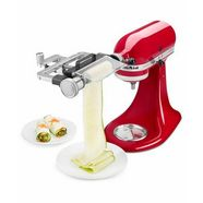 kitchenaid groentesnijder 5ksmsca, accessoire voor alle kitchenaid-keukenmachines zilver