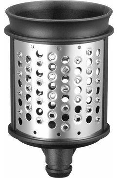 kitchenaid raspinzet raspel- und reibenpaket 5ksmemvsc met 3 inzetstukken zilver