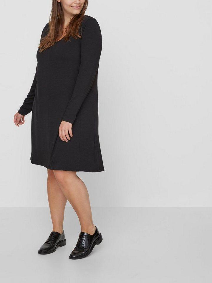 NU 21% KORTING: Junarose Met lange mouwen jurk zwart