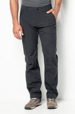jack wolfskin outdoorbroek »drake flex pants men« grijs
