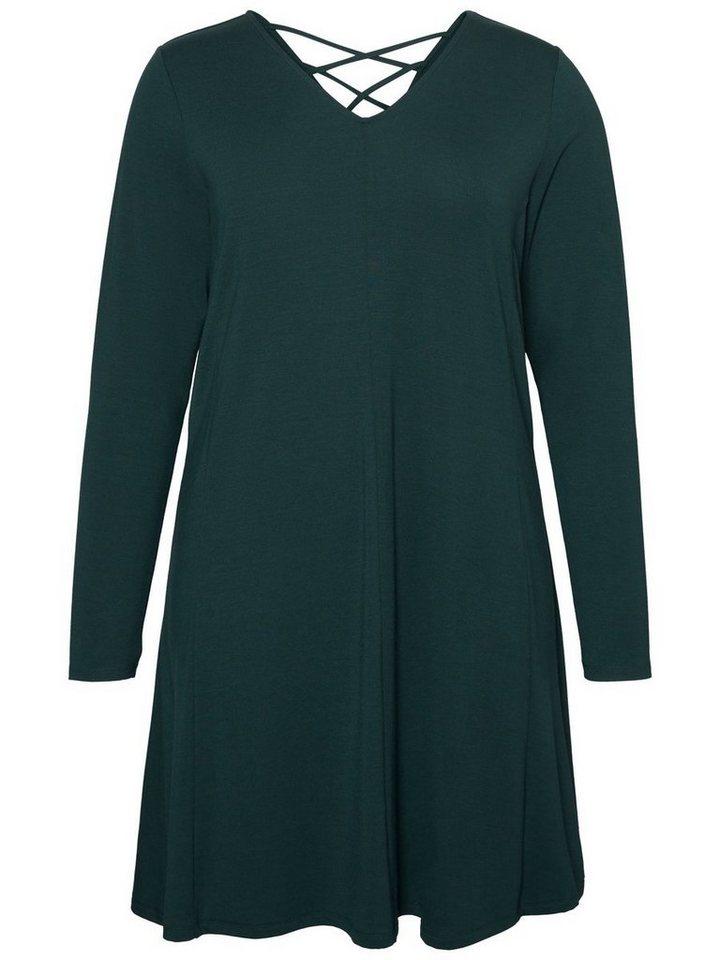 Junarose Met lange mouwen jurk groen