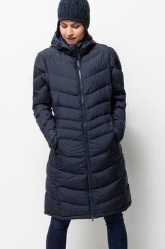 jack wolfskin donsjas »selenium coat« blauw