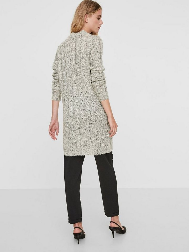 Vero Moda Casual gebreide jurk grijs