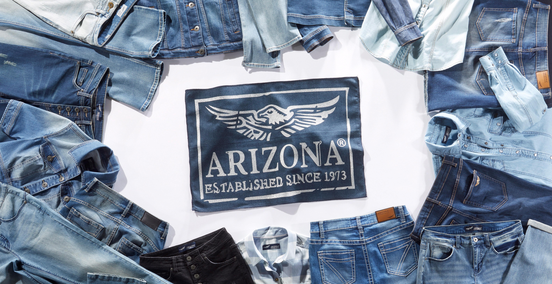 Arizona stretchjeans, 'Annett' koop je bij
