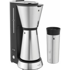 wmf filterkoffieapparaat kuechenminis aroma thermo to go, 0,65 l zilver