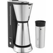 wmf koffiezetapparaat wmf kuechenminis aroma koffiezetapparaat thermo to go, 0,65 l-kan zilver
