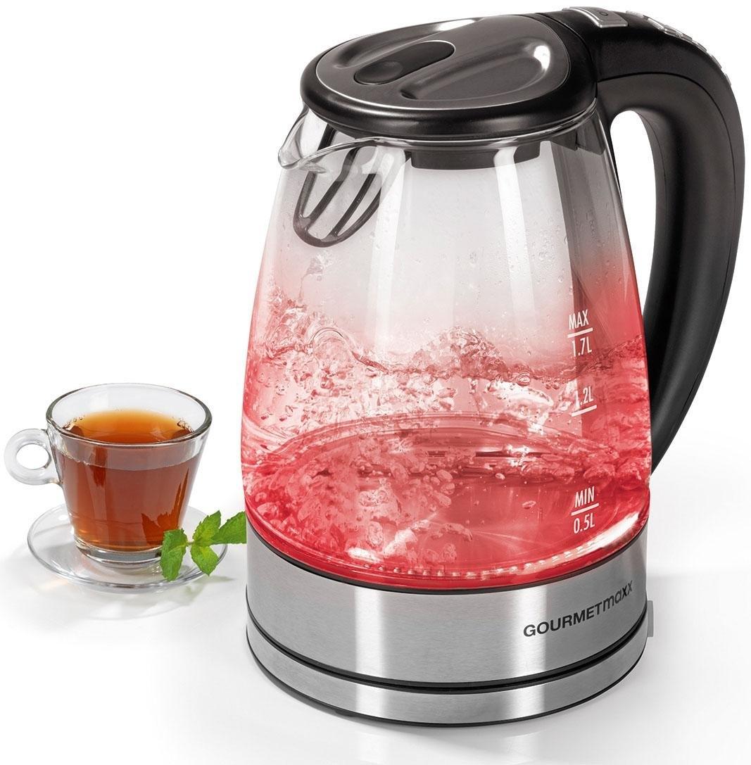 Op zoek naar een GOURMETmaxx Waterkoker Glas LED/temperatuurkeuze, 1,7 l? Koop online bij OTTO