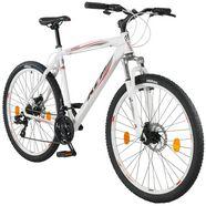 kcp mountainbike »garriot«, 27,5 inch, 53 cm framehoogte, 21 versnellingen, schijfremmen wit