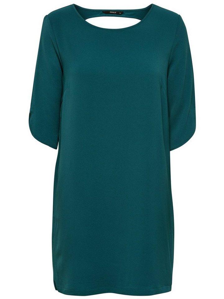 ONLY Gedetailleerde jurk groen